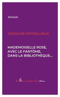 Mademoiselle Rose, avec le fantôme, dans la bibliothèque