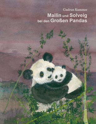 Mailin und Solveig bei den Großen Pandas
