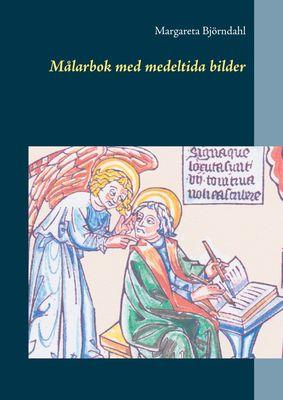 Målarbok med medeltida bilder