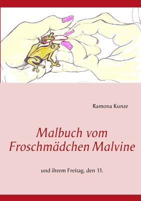 Malbuch vom Froschmädchen Malvine
