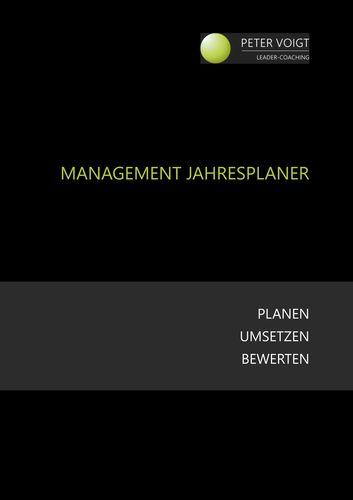 Management Jahresplaner