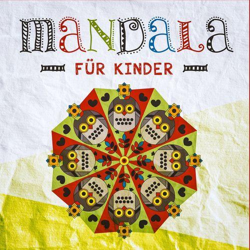 Mandala für Kinder - Mandala Ausmalen mit 37 tollen Mandala Vorlagen für Kinder - Mandala malen