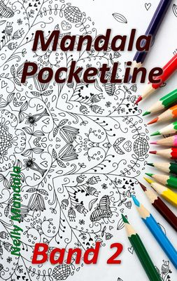 Mandala PocketLine Band 2 - Entspannen mit Mandalas - Mandala Malbuch für Erwachsene