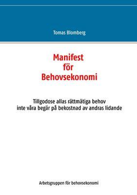 Manifest för Behovsekonomi