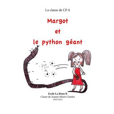 Margot et le python géant