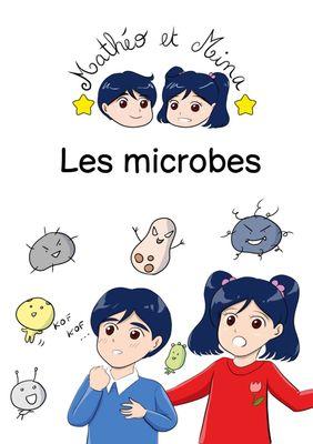 Mathéo et Mina, les microbes