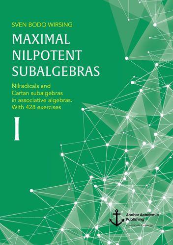 Maximal nilpotent subalgebras I: Nilradicals and Cartan subalgebras in associative algebras. With 428 exercises