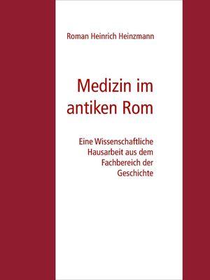 Medizin im antiken Rom