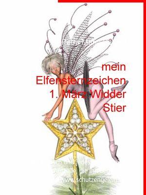 mein Elfensternzeichen 1. März Widder Stier