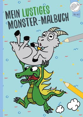 Mein lustiges Monster - Malbuch