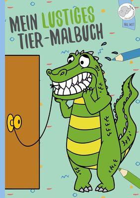 Mein lustiges Tier - Malbuch