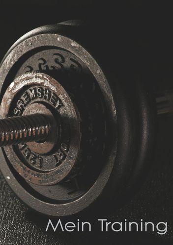 Mein Trainingstagebuch für Krafttraining und Fitness | Notiere deine körperlichen und kräftemäßigen Fortschritte | Ausreichend Platz für Trainingspläne und 40 Übungen - gebundene Ausgabe - DIN A5