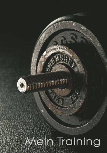 Mein Trainingstagebuch für Krafttraining und Fitness | Ringbuch - DIN A5 | Notiere deine körperlichen und kräftemäßigen Fortschritte | Ausreichend Platz für Trainingspläne