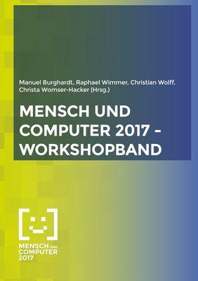 Mensch und Computer 2017 - Workshopband