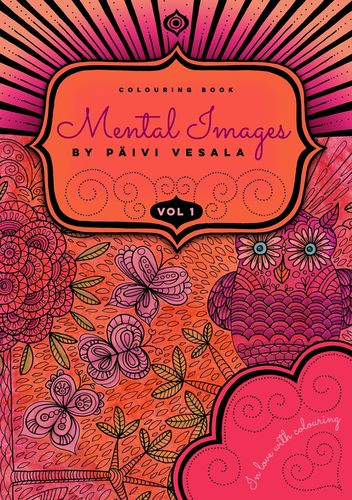 Mental Images vol 1 colouring book
