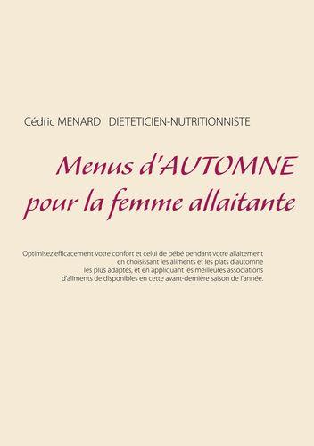 Menus d'automne pour la femme allaitante