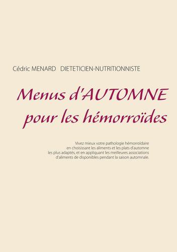 Menus d'automne pour les hémorroïdes