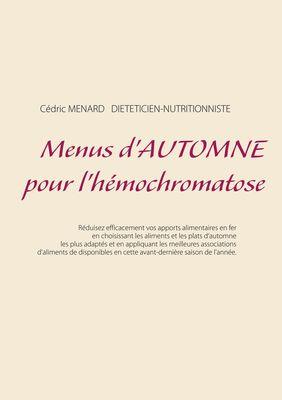 Menus d'automne pour l'hémochromatose