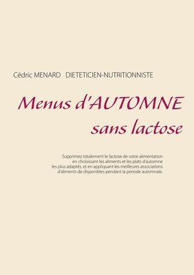 Menus d'automne sans lactose