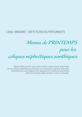 Menus de printemps pour les coliques néphrétiques xanthiques