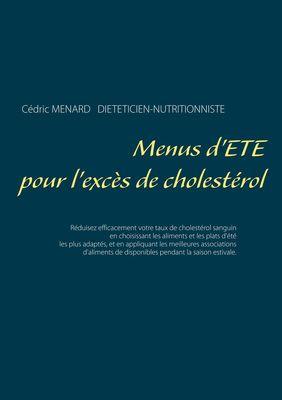 Menus d'été pour l'excès de cholestérol