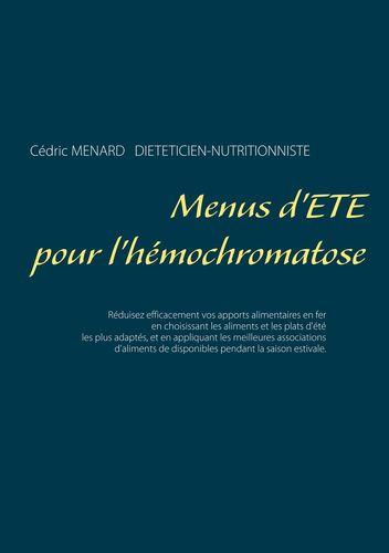 Menus d'été pour l'hémochromatose