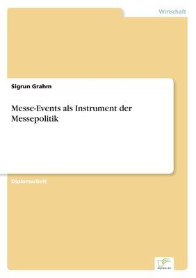 Messe-Events als Instrument der Messepolitik
