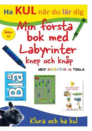 Min Första bok med Labyrinter, knep och knåp