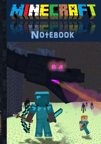 Minecraft Notebook 'Ender Dragon' (quad paper)