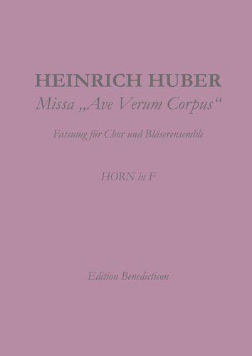 Missa Ave Verum Corpus. Horn