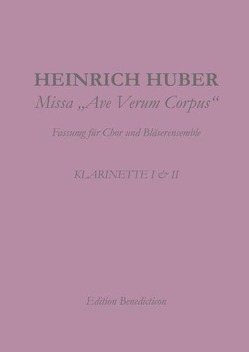 Missa Ave Verum. Klarinette I und II