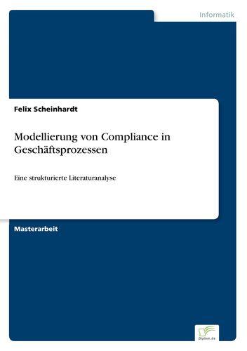 Modellierung von Compliance in Geschäftsprozessen