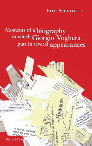 Moments of a biography in which Giorgio Voghera puts in several appearances.
