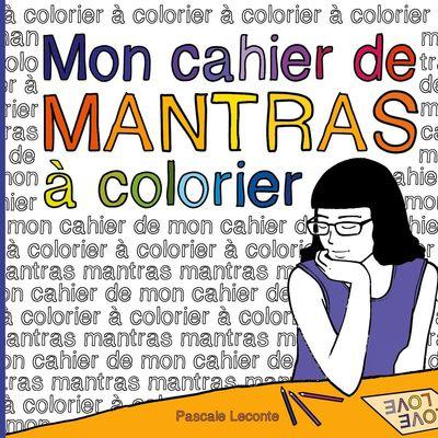 Mon cahier de Mantras à colorier