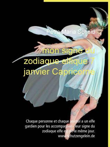 mon signe du zodiaque elfique 7 janvier Capricorne