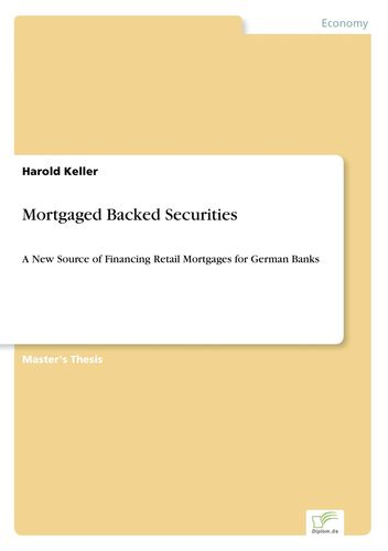 mortgage backed securities thesis