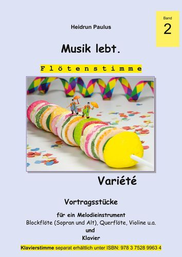 Musik lebt. (Flötenstimme) -Band 2 -