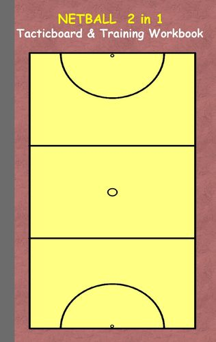 Netball 2 in 1 Tacticboard and Training Workbook
