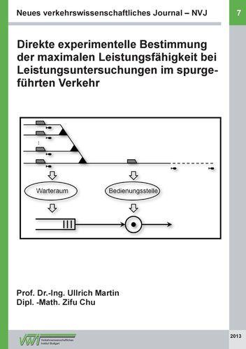 Neues verkehrswissenschaftliches Journal NVJ - Ausgabe 7