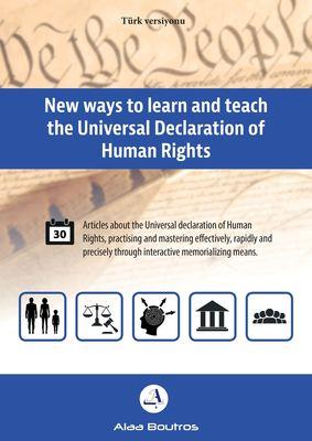 New ways to learn and teach the Universal Declaration of Human Türk versiyonu Rights