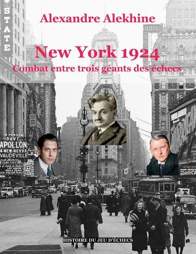 New York 1924 : combat entre trois géants des échecs