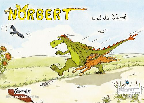 Norbert und die Wurst - Norbert und der Müllplatz - Norbert un der Frosch
