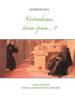 Nostradamus, lorem ipsum...?