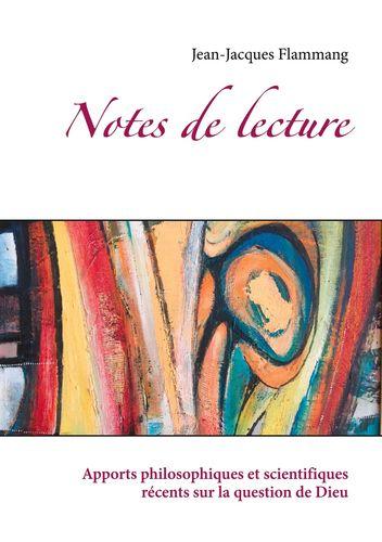 Notes de lectures