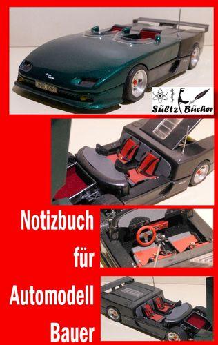 Notizbuch für Automodell-Bauer