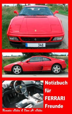 Notizbuch für Ferrari Freunde