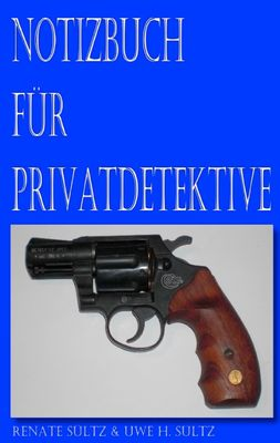 Notizbuch für Privatdetektive