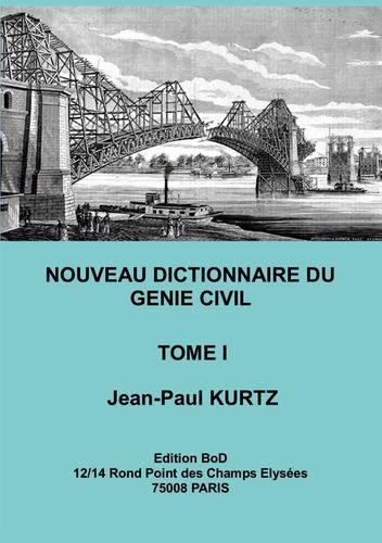 Nouveau Dictionnaire du Génie Civil