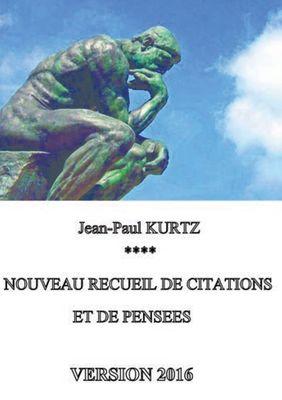 Nouveau recueil de citations et de pensées - Version 2016