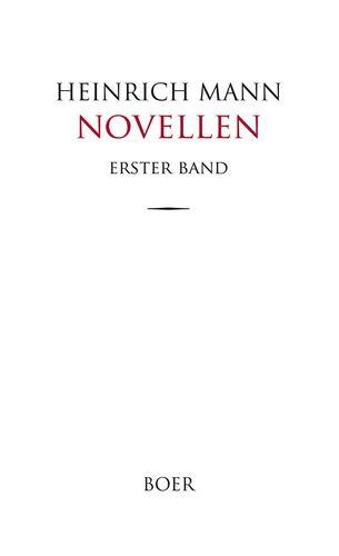 Novellen Band 1
